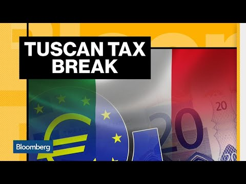 Italy Woos the Wealthy With a Tuscan Tax Break