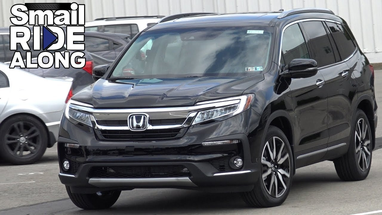 honda pilot elite review  test drive smail ride  youtube