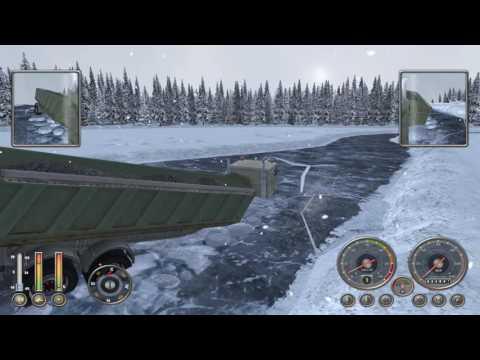 18 Wheels Of Steel Extreme Trucker Winter Gameplay