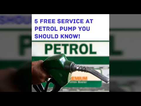 5 Free Service at Petrol Pump You Know!