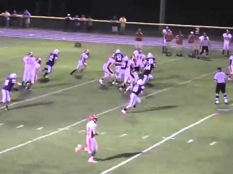 Ticonderoga - Saranac Varsity Football  9-5-14