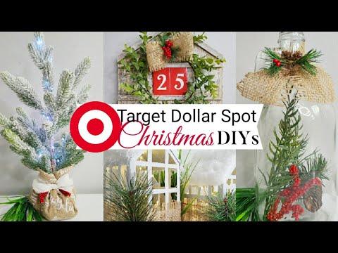Youtube Christmas Decorations 2020 🎄 Target Dollar Spot CHRISTMAS DIYs | CHRISTMAS Neutral Decor