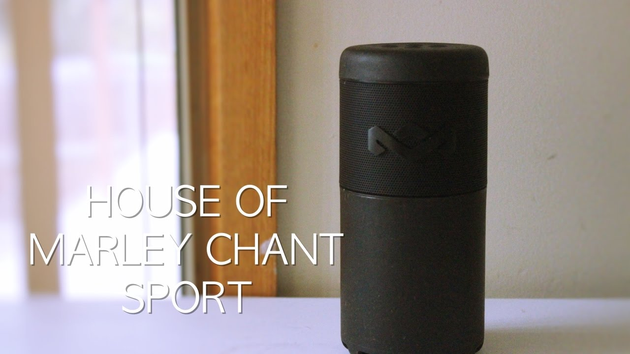 BEST WATERPROOF SPEAKER HOUSE OF MARLEY CHANT SPORT