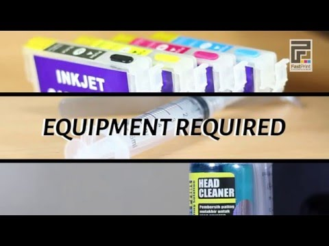 How to Clean Canon and HP printer heads | Doovi
