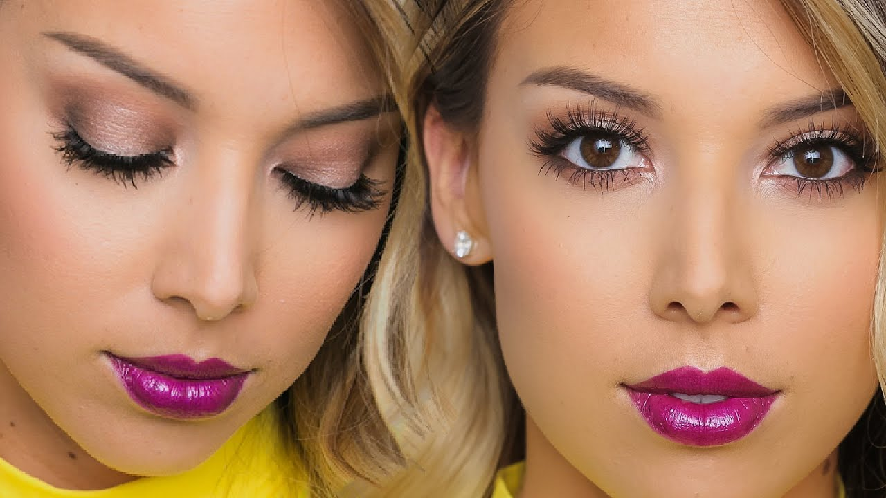 Too faced chocolate bar tutorial one brand lustrelux youtube baditri Images
