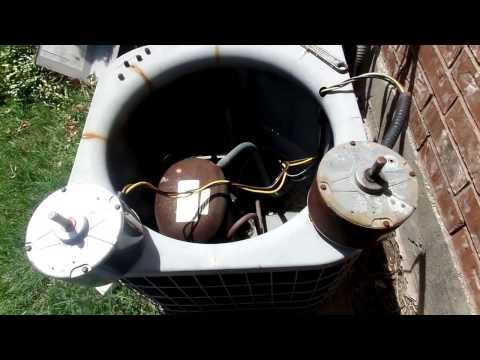 condenser-fan-motor-and-capacitor-replacement
