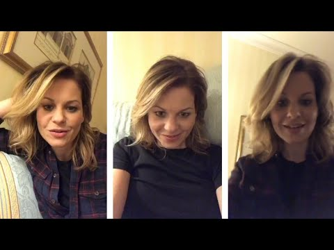 Candace Cameron instagram live stream  October 11