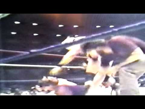 Jerry Lawler vs  Lord Humongous with Jiim Neidhart & Ox Baker interfering (April 30, 1984)