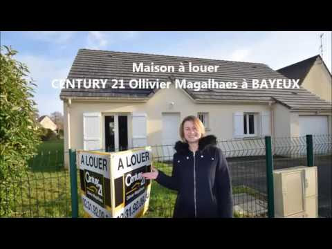 Maison a louer century 21 bayeux ollivier magalhaes youtube for Maison luxueuse a louer