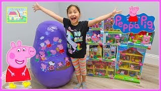 biggest-peppa-pig-toys-surprise-egg-opening-ever-with-castle-toy-surprises-for-kids