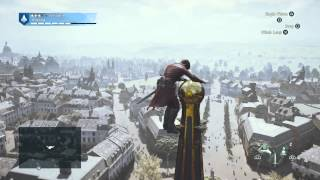 Assassin's Creed Unity - climbing Dome des Invalides