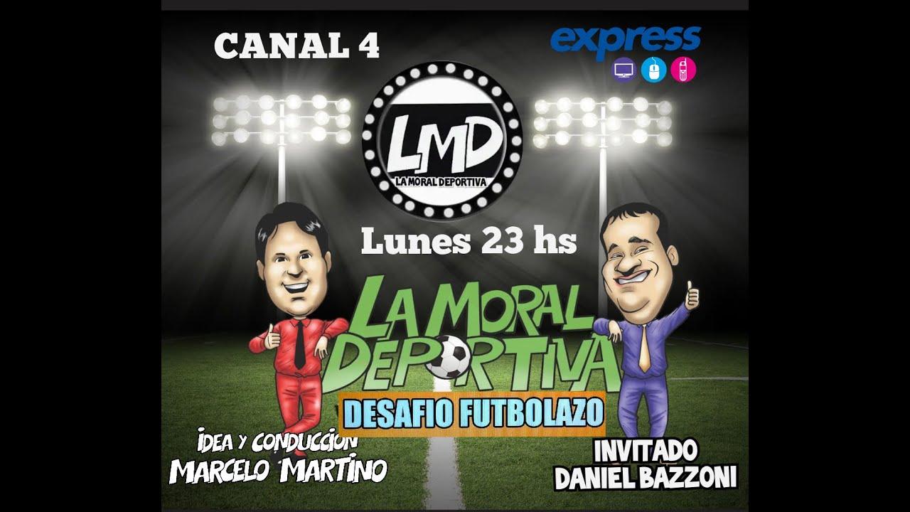 #LMD2020  PROGRAMA LA MORAL DEPORTIVA/DESAFIO FUTBOLAZO  CAPITULO 14/ TEMPORADA 16