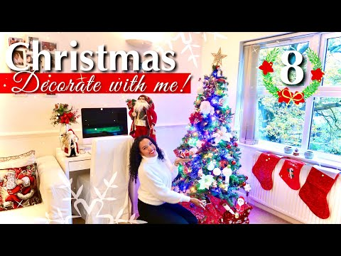 CHRISTMAS DECORATE WITH ME | CHRISTMAS COUNTDOWN WITH LAYONIE JAE