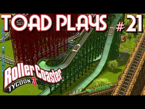 Roller Coaster Tycoon 3 - Part 21 - THE OBSERVATION TOWER THAT NEVER STOPPED