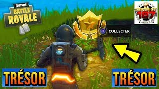 FORTNITE DEFI PAS OF COMBAT WEEK 7 DENT THE MAP TROUVÉ A RETAIL ROW (WAILING ) TUTO EN