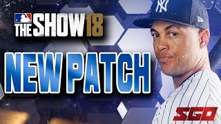MLB The Show 18 Patch 1.05 Details