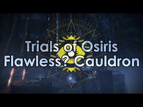 Destiny: Trials of Osiris 9-0 Flawless Victory? - Cauldron Full Gameplay