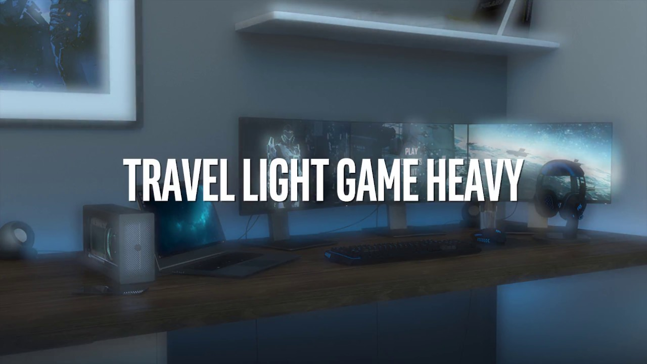 Are You Ready To Travel Light And Game Heavy?