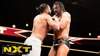 "Drew McIntyre vs. Andrade ""Cien"" Almas: WWE NXT, April 26, 2017"