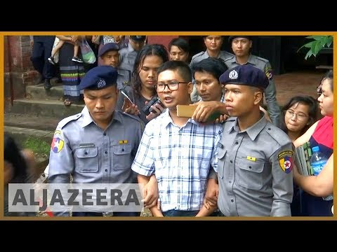 🇲🇲 Journalist tried for reporting on Rohingya deaths testifies| Al Jazeera English