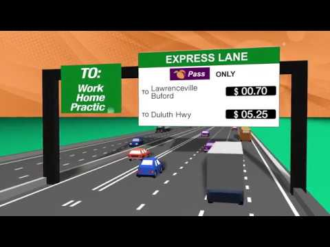 I-85 Express Lanes Extension