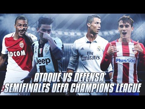 SEMIFINALES UEFA CHAMPIONS LEAGUE | ATAQUE VS DEFENSA