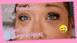 Faux cils magnetiques Kiss Products ... Au secours ...