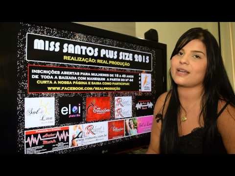 Bruna Cunico é candidata a MISS SANTOS PLUS SIZE 2015