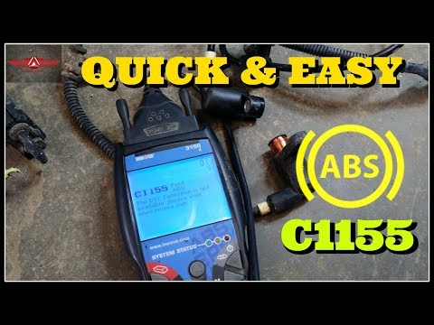 Ford Windstar Front Speed Sensor Replacement ABS