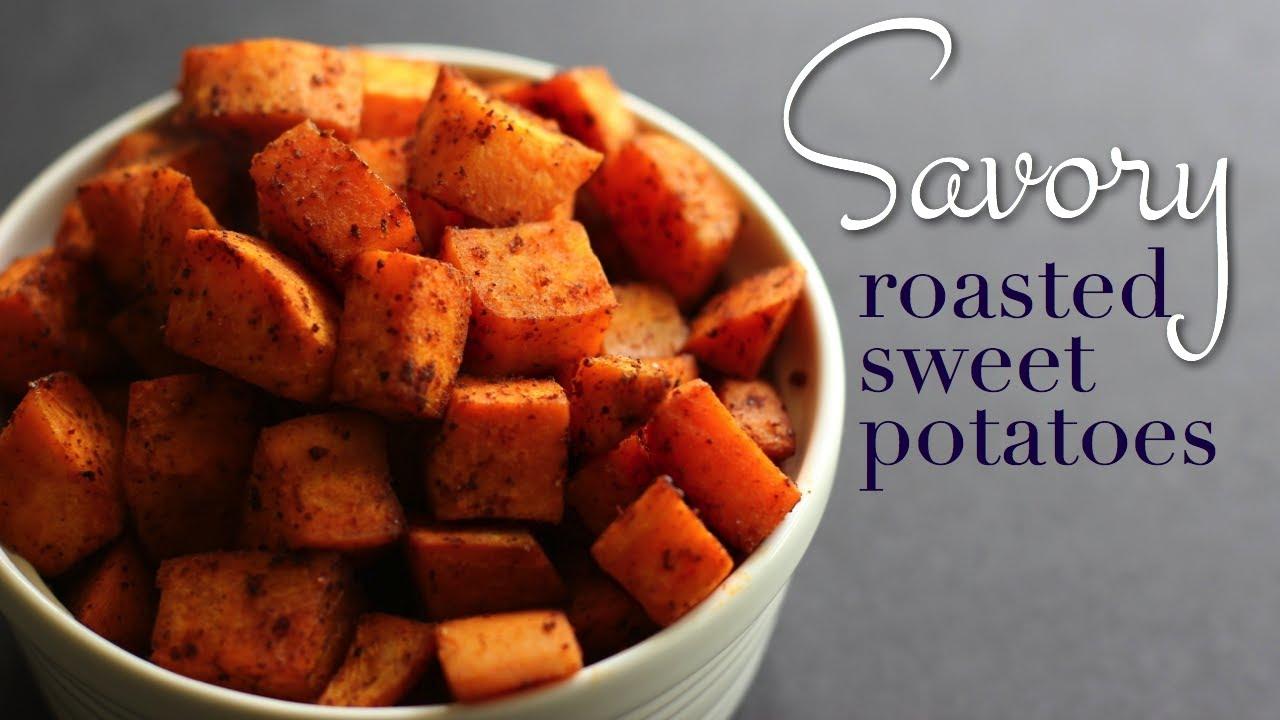 Sweet potato recipes roasted