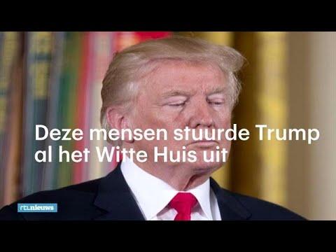 'You're fired!': de ontslaggolf van Trump in het Witte Huis