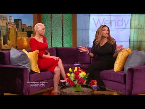 The Wendy Williams Show - Interview with Amber Rose (2014)