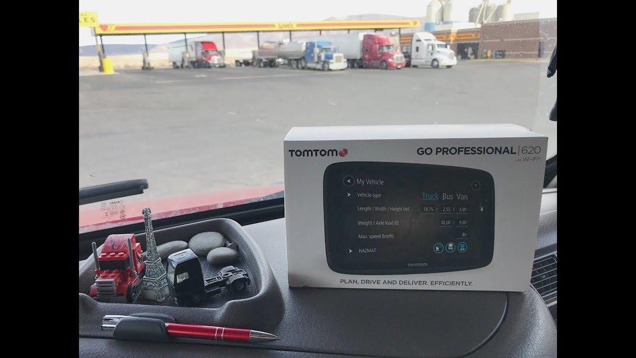 TomTom Go Professional 620 Unboxing i Prezentacja
