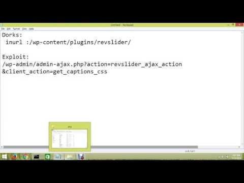 Revolution Slider WP Exploit