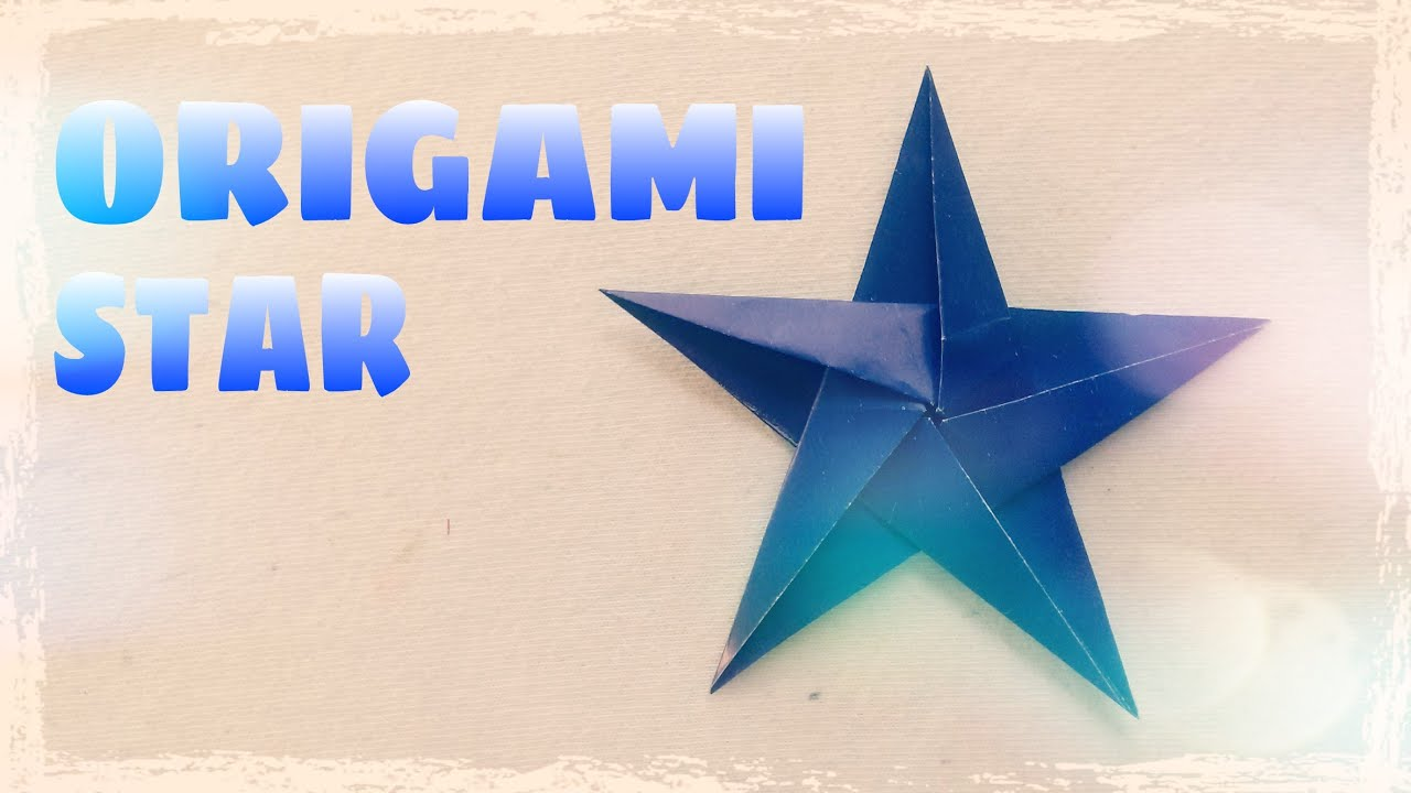 Origami Star Tutorial - Origami Easy - YouTube - photo#37