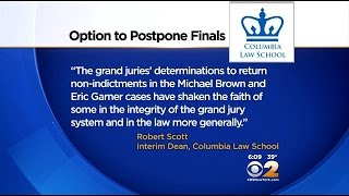 Columbia Law School Students Delay Exams Over Recent Grand Jury Decisions