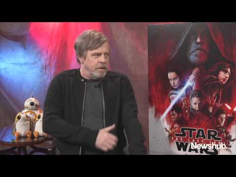 Mark Hamill on Carrie Fisher and The Last Jedi | Newshub
