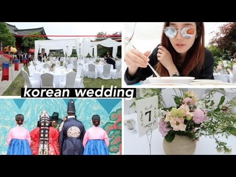 Going To A Traditional Korean Wedding Ceremony