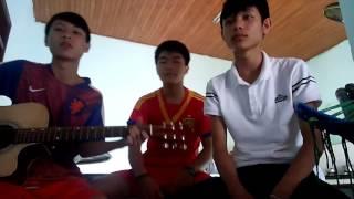 """Giận Hờn Guitar + Cajon (Chế) - """"Ăn Xin"""" Band"""