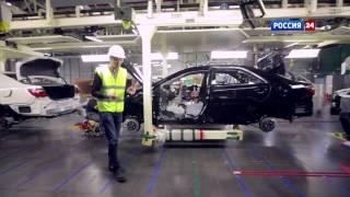 Репортаж с завода Toyota в Петербурге // АвтоВести 202(, 2015-04-13T15:01:19.000Z)