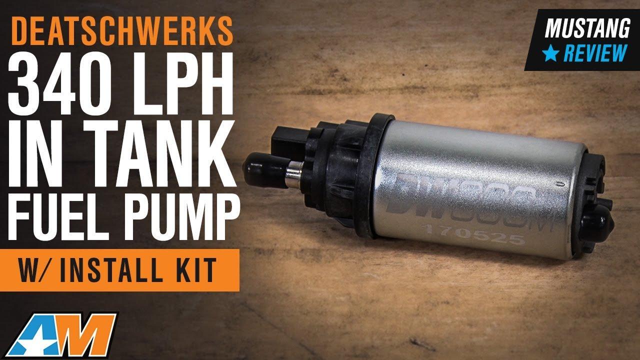 DEATSCHWERKS DW300c 340LPH Compact In-Tank Fuel Pump/& Subaru WRX STI Install Kit