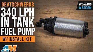 DeatschWerks DW300M 340lph In-Tank Fuel Pump w// Install Kit 05-10 Mustang V6 GT