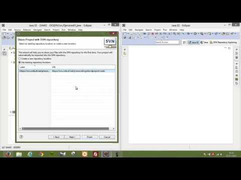 Creación de un proyecto en repositorio Sourceforge (David de los Mozos)