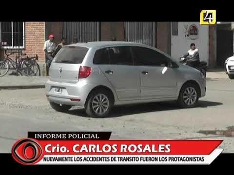 Crio  CARLOS ROSALES   SIGUEN LOS ACCIDENTES DE TRANSITO