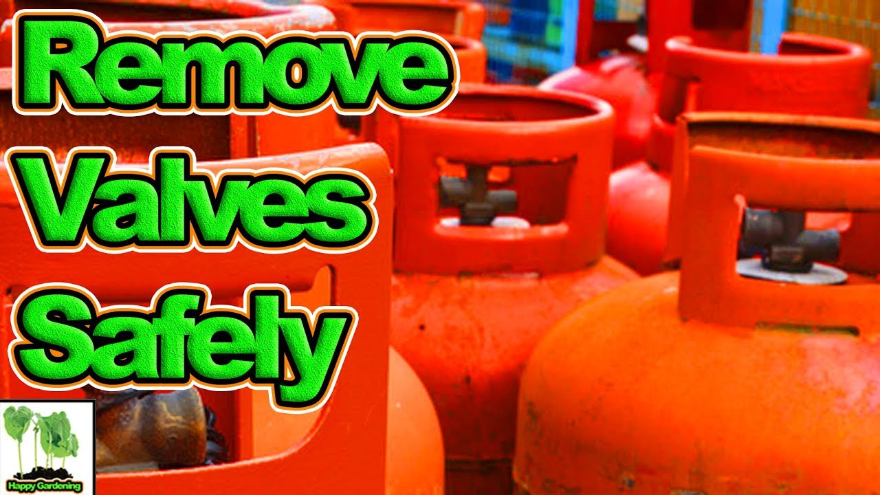 How To Remove A Valve From A Gas Bottle / Cylinder Safely