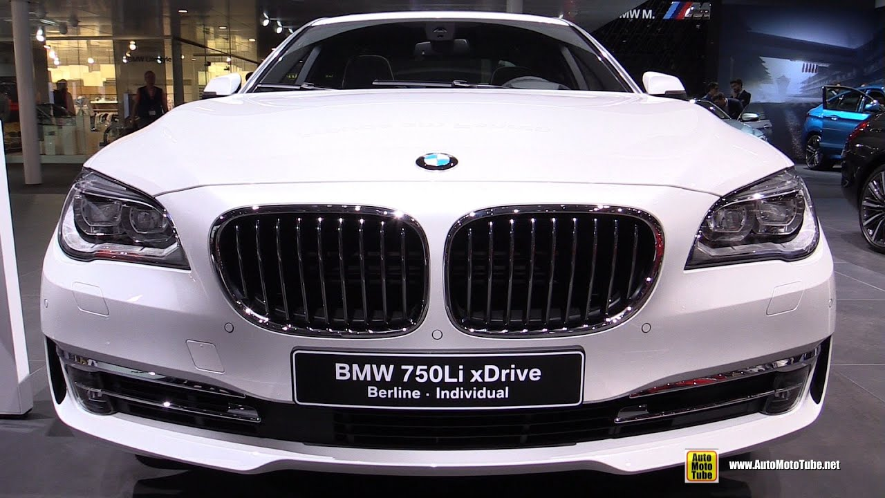 2015 bmw 750li xdrive individual - exterior and interior