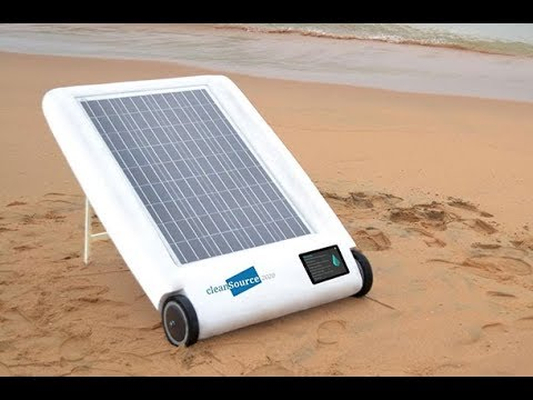 The Desolenator – New Solar-Powered Invention Can Make Sea Water Drinkable