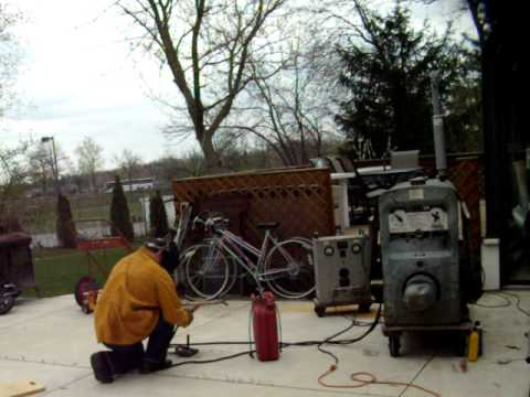 Lincoln SA-200 Welder with Continental F-163 after tuneup