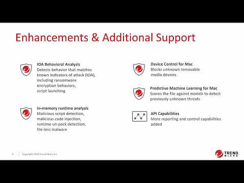Apex One™: Overview for Existing OfficeScan Customers