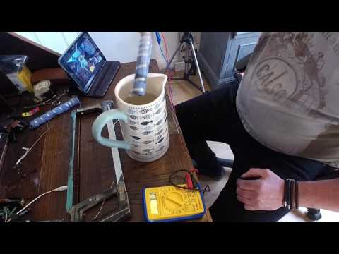 How To Make Free Energy From Water Carbon Graphite Rod   Magnesium  Ribbon 2017